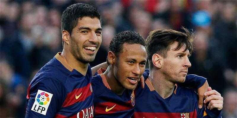Messi Suárez Neymar