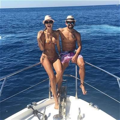Karina Mendoza, la bella esposa de Tomás Rincón, jugador de Venezuela