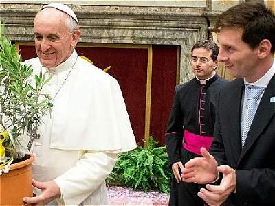 Jugadores famosos que visitaron al Papa/GALERÍA