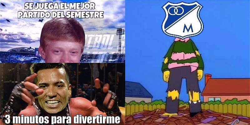Memes de Nacional vs Millonarios