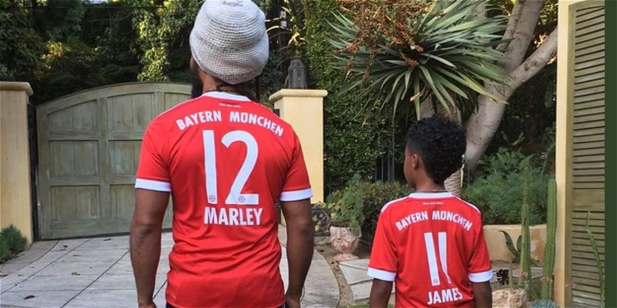 Nieto de Bob Marley muestra su admiración por James Rodríguez
