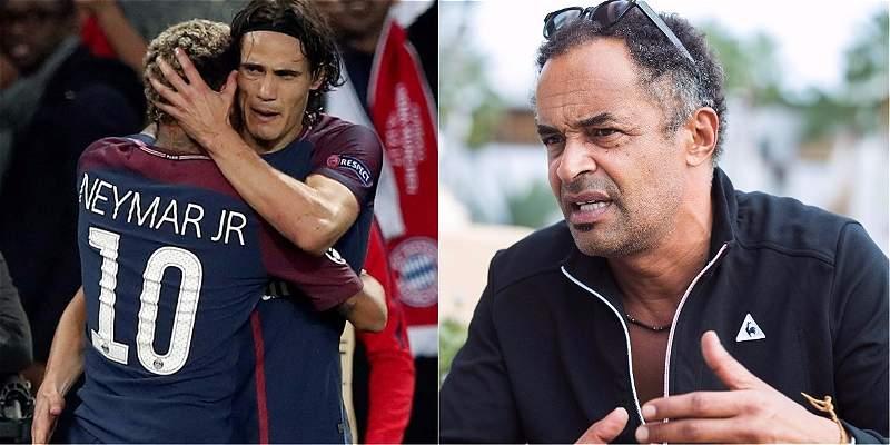 Yannick Noah resuelve lío Neymar-Cavani: invita a tomarse una cerveza