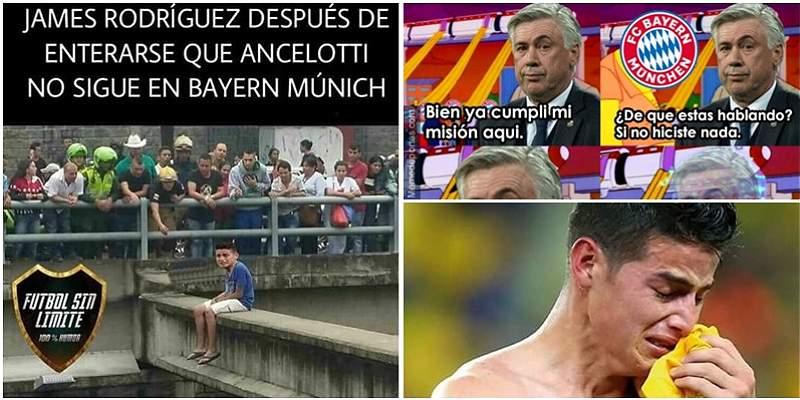 Al estilo de los \'memes\', el despido de Ancelotti del Bayern Múnich