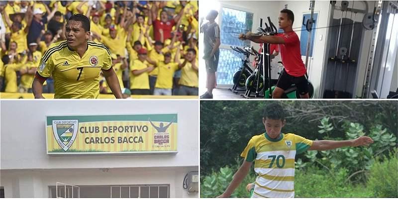 Carlos Bacca Fundación y Club deportivo