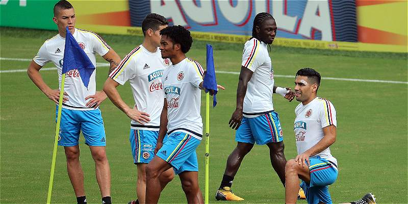 Así palpitan los jugadores de la Selección el partido contra Paraguay