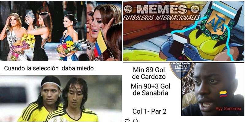 Al estilo de los \'memes\', la jornada 17 de Eliminatorias suramericanas