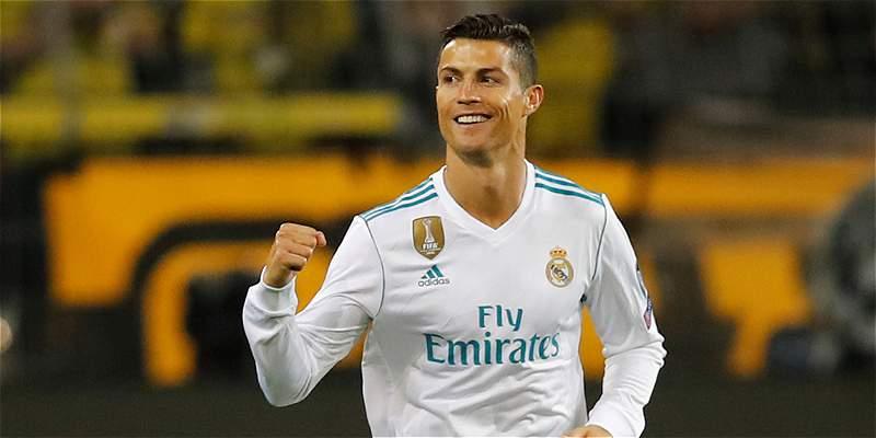 Cristiano de festejo, hace 15 años marcó el primer gol de su carrera