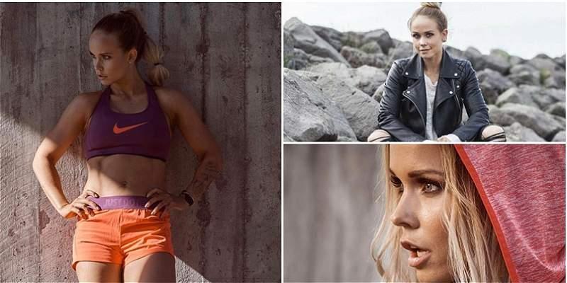Conozca a Kris J, la bella esposa \'fitness\' del capitán de Islandia