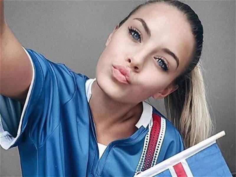 Resultado de imagen para mujeres de islandia en el mundial de rusia