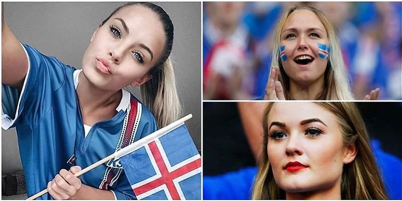 Hinchas de Islandia collage