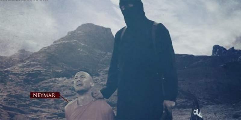 Neymar e Isis