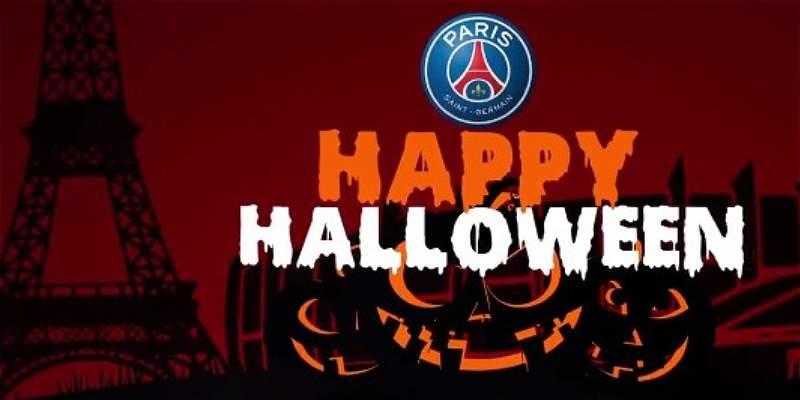 La curiosa celebración de Halloween que hizo el PSG con sus jugadores