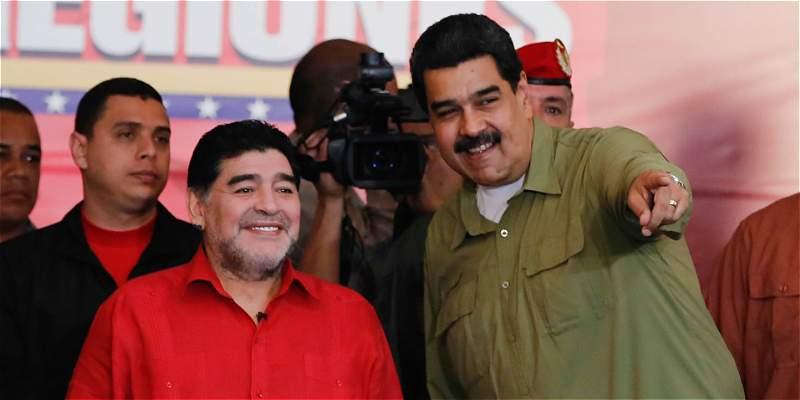 Maradona tendrá programa de TV en el Mundial de Rusia 2018
