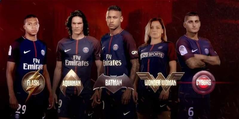 PSG tiene su \'Liga de Justicia\': Neymar, Cavani  y Mbappé, sus héroes