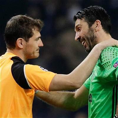 'No me gusta verte así. Sigues siendo una leyenda': Casillas a Buffon