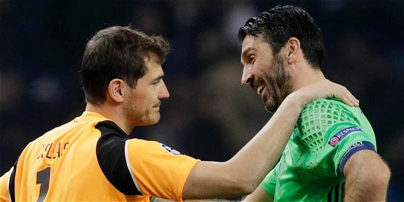 Iker Casillas mensaje a Buffon