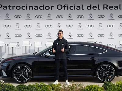 Carros de los jugadores de Real Madrid