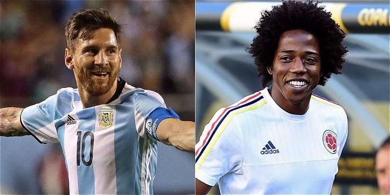 Lionel Messi felicitó a Colombia por clasificar a Rusia 2018