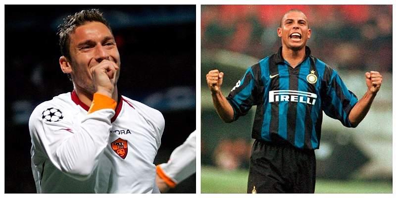 ¿Se imaginaron la dupla Totti-Ronaldo? Uno de los sueños del italiano