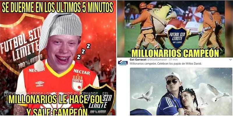 Memes Santa Fe vs. Millonarios