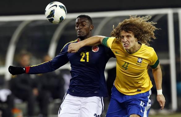 Brasil le empata 1-1 a Colombia en amistoso: minuto a minuto