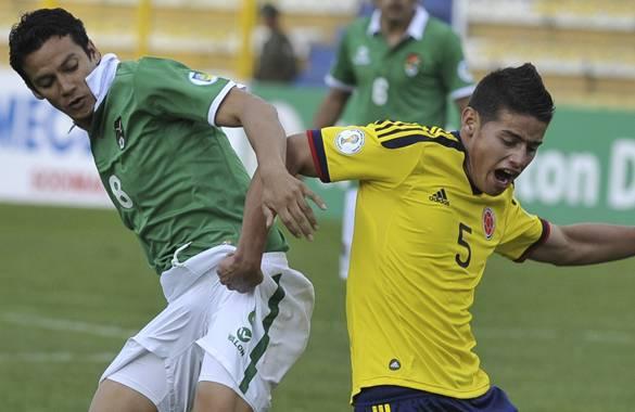 James Rodríguez fue una de las grandes figuras de la Selección Colombia, en La Paz.