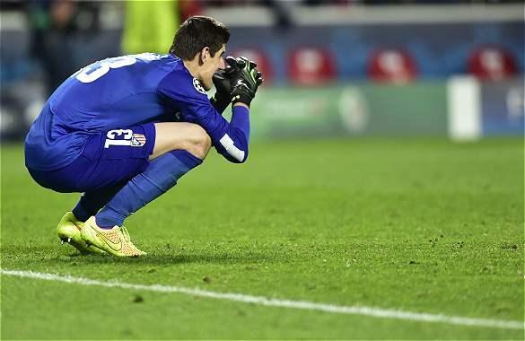 """""""Que Courtois no ganara el premio de la Liga fue raro"""", dijo Simeone"""