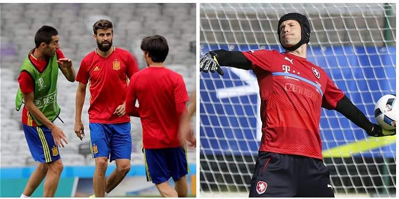 España, a despejar dudas en su estreno en la Euro frente a R. Checa