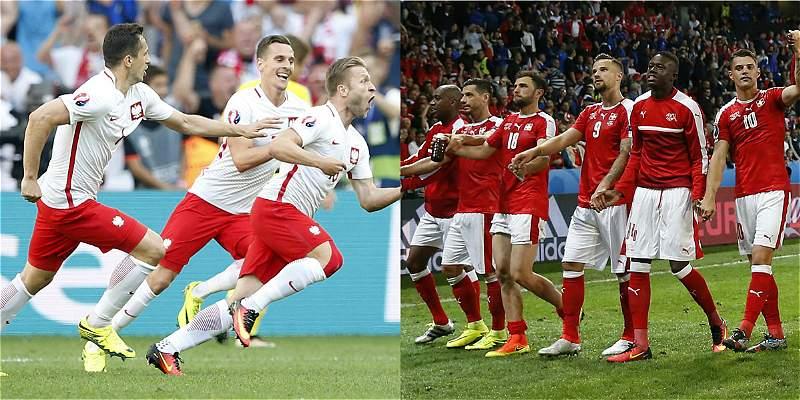 Polonia vs. Suiza, abrirán los octavos de final de la Eurocopa