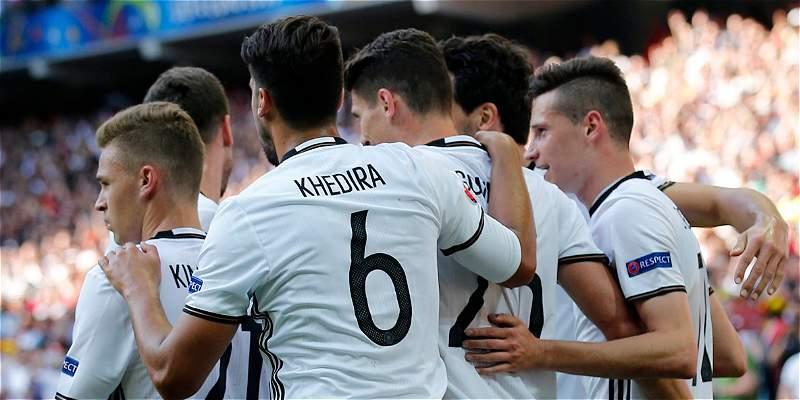 Alemania no tuvo problemas frente a Eslovaquia: 3-0 y está en cuartos