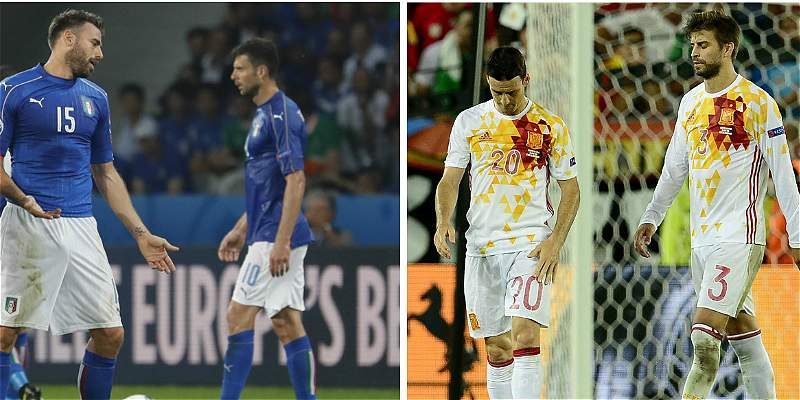 Italia vs. España: un juego que dejará fuera de la Euro a una potencia
