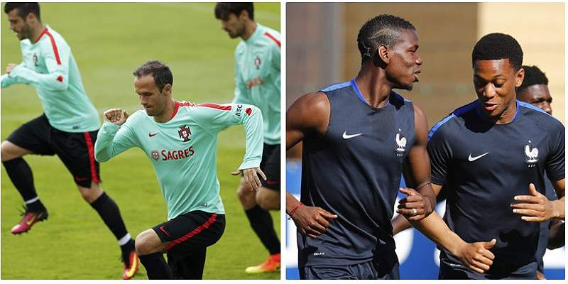 Los ocho datos curiosos de la final de la Euro entre Francia-Portugal