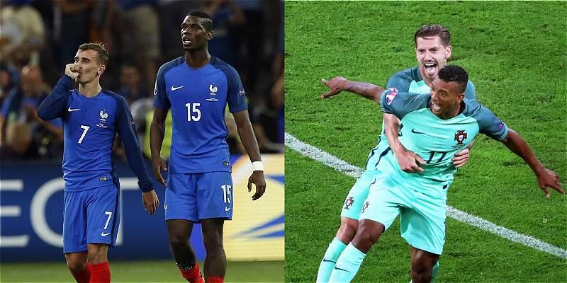 Francia y Portugal definieron sus nóminas para el partido de la final