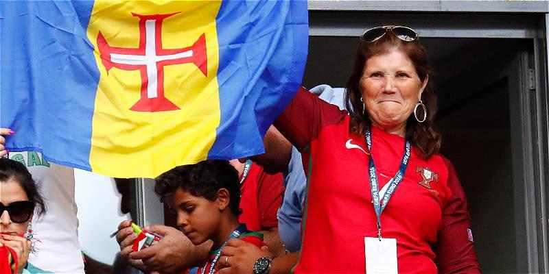 La mamá de Cristiano se quejó por mala intención en lesión de su hijo