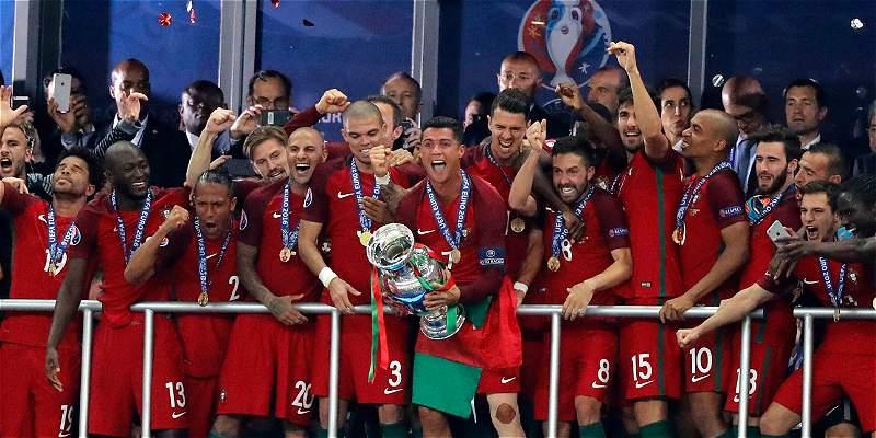 Portugal es campeón de la Eurocopa: venció 0-1 a Francia