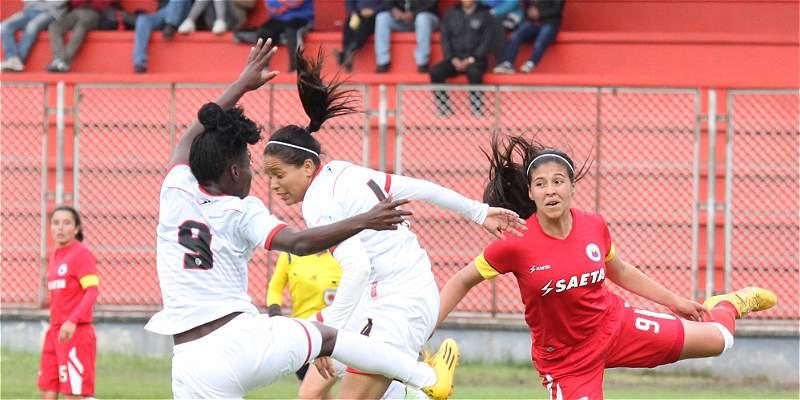 Cortuluá ganó el duelo inaugural de la Liga Femenina: 1-2 sobre Pasto