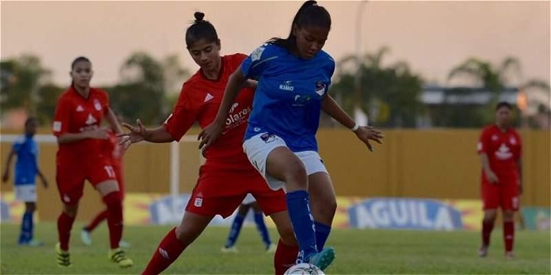 Orsomarso inició de buena forma la Liga Femenina: venció 2-0 a América