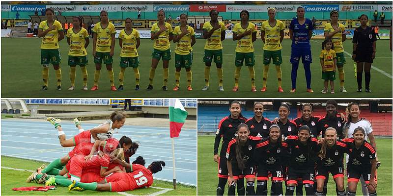 América sorprendió a Pasto y Huila goleó a Fortaleza en Liga Femenina