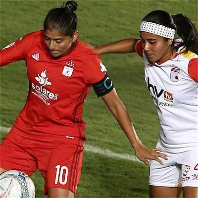 Santa Fe América fútbol femenino