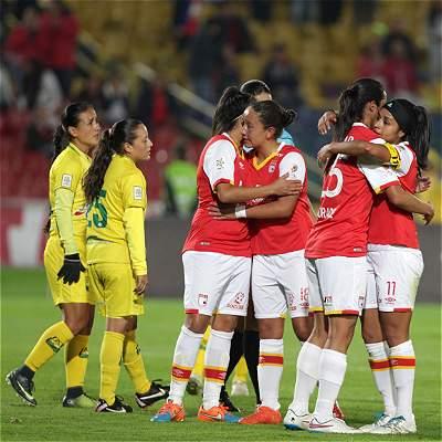 Santa Fe, a primera final de Liga Femenina: superó 3-0 a Bucaramanga