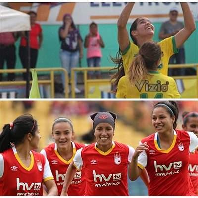 Huila vs. Santa Fe, por el primer 'round' de la final en Liga Femenina