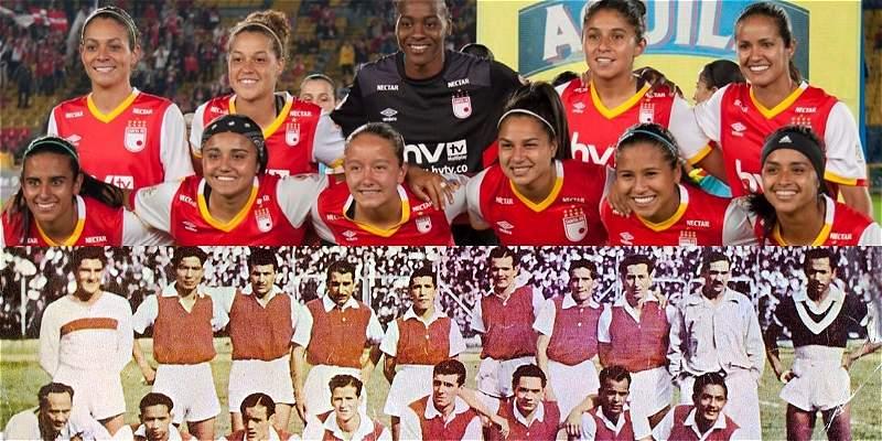 Independiente Santa Fe, primer campeón en hombres y en mujeres