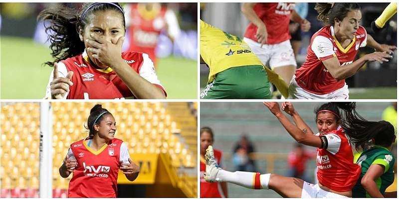 Las cuatro figuras que llevaron a Santa Fe a ganar la Liga Femenina