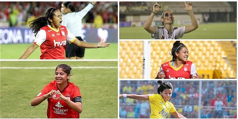 Top-5: ellas fueron las grandes figuras en la Liga Femenina-2017