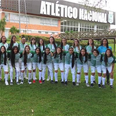 Equipo femenino de Nacional