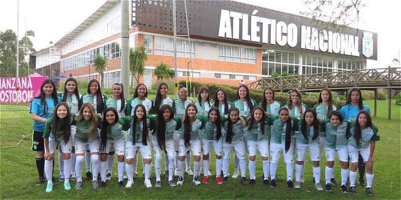 Atlético Nacional presentó su equipo femenino para la Liga en 2018