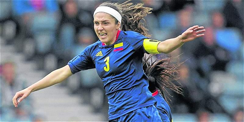 Natalia Gaitán, capitana de Selección Colombia, sufrió grave lesión