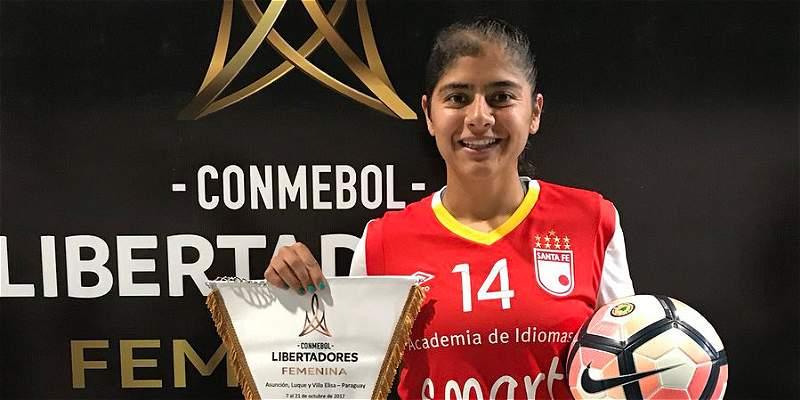Catalina Usme Santa Fe Copa Libertadores Femenina