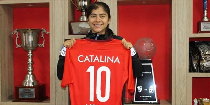 Catalina Usme regresa al equipo femenino del América de Cali