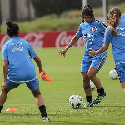 Selección Colombia femenina jugará un cuadrangular amistoso en China